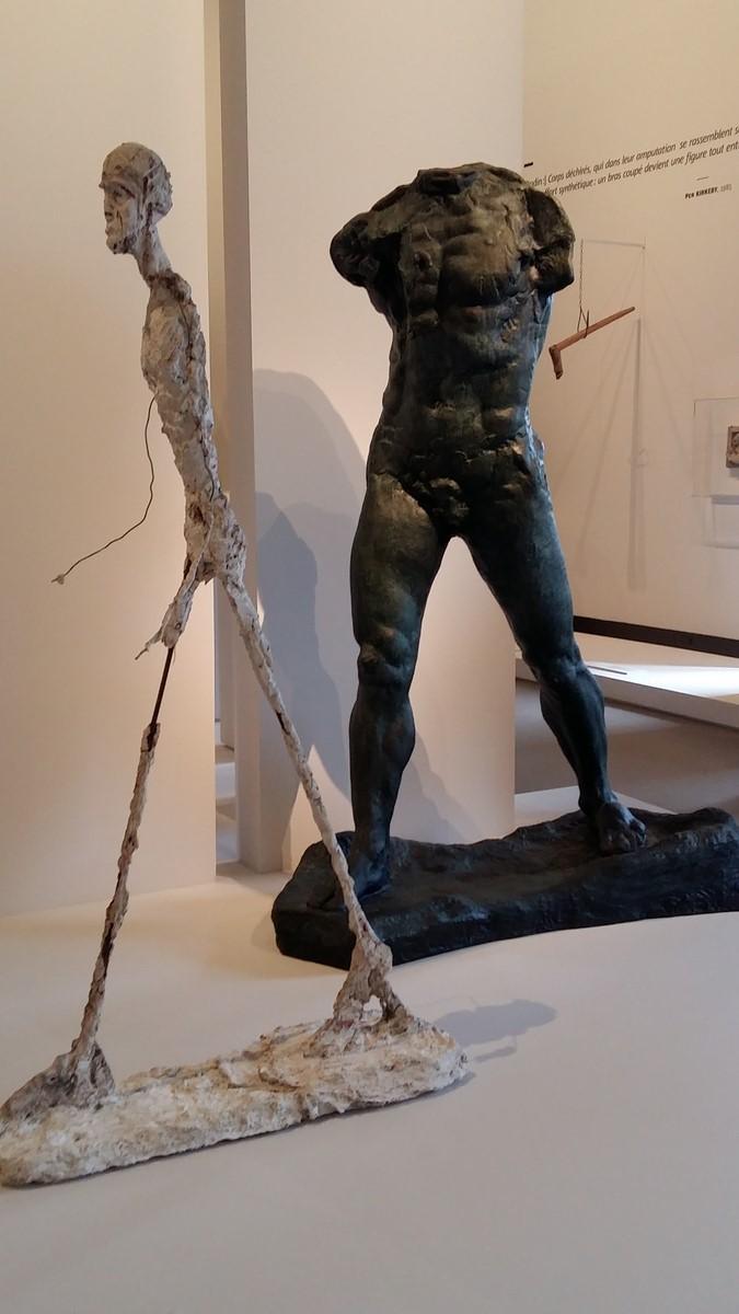 L'Homme qui marche de Giacometti 1948